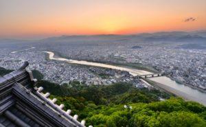 Kinka Gifu Castle View