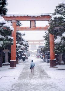 Takayama in Snow